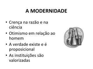 A MODERNIDADE