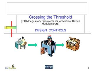 Crossing the Threshold ( FDA Regulatory Requirements for Medical Device Manufacturers)