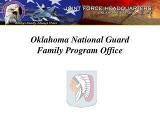 Oklahoma National Guard  Family Program Office