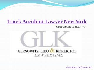 Gersowitz, Libo & Korek - Truck Accident Lawyer New York