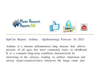 EpiCast Report: Asthma - Epidemiology Forecast To 2023