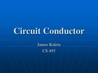 Circuit Conductor