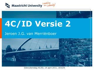 4C/ID Versie 2