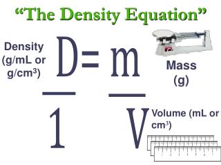 """The Density Equation"""