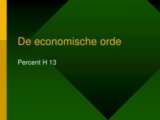 De economische orde