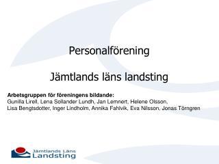 Personalförening Jämtlands läns landsting