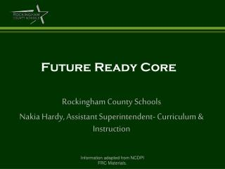 Future Ready Core