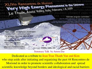 Dedicated as a tribute to  Jean Tran Thanh Van and Kim