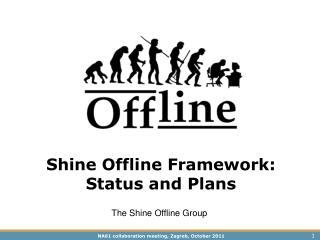 Shine Offline Framework: Status and Plans