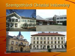 Szentgotthárdi Oktatási Intézmény