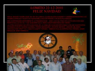 LOMITO 22-12-2010 FELIZ NAVIDAD
