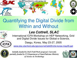 Quantifying the Digital Divide from Within and Without