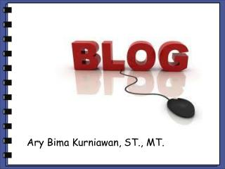 Ary Bima Kurniawan, ST., MT.