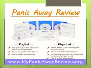 Panic Away Reviews 2014 – Experts Reviews For End Anxiety