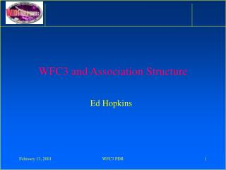WFC3 and Association Structure