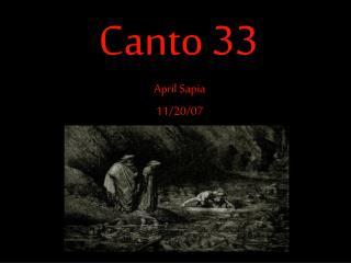 Canto 33