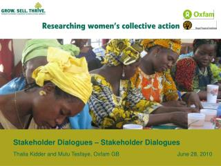 Stakeholder Dialogues – Stakeholder Dialogues