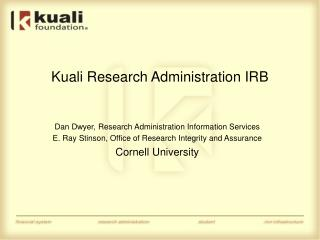 Kuali Research Administration IRB