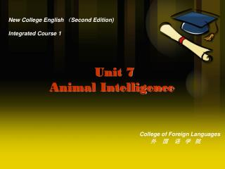 New College English  ( Second Edition) Integrated Course 1