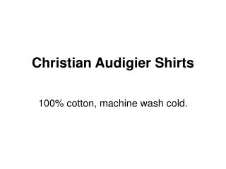 Christian Audigier Shop