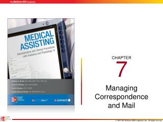 Managing Correspondence and Mail