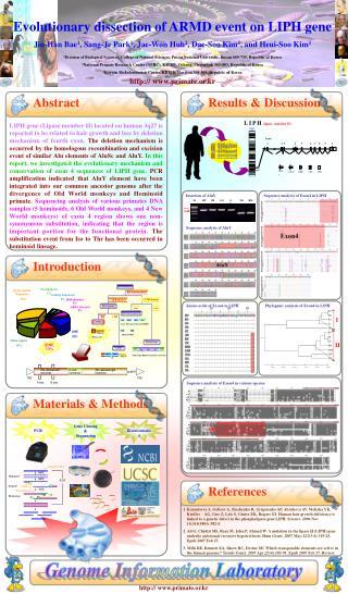Genome Information Laboratory