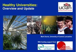 Mark Dooris, University of Central Lancashire