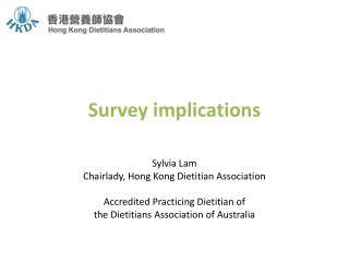 Survey implications