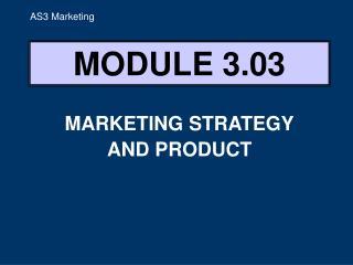 MODULE 3.03