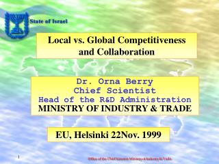 Local vs. Global Competitiveness and Collaboration