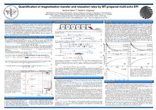 Quantification of magnetization transfer and relaxation rates by MT-prepared multi-echo EPI