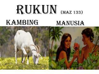 RUKUN  (maz 133)