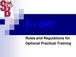 F-1 OPT
