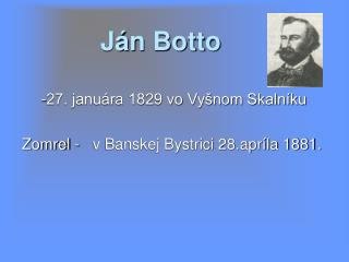 Ján Botto
