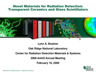 Novel Materials for Radiation Detection: Transparent Ceramics and Glass Scintillators