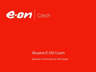 Skupina E.ON Czech
