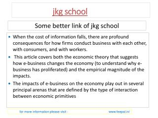 Laest news about jkg school