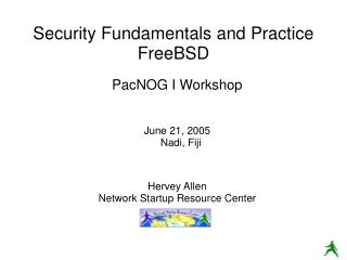 Security Fundamentals and Practice FreeBSD