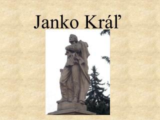 Janko Kráľ