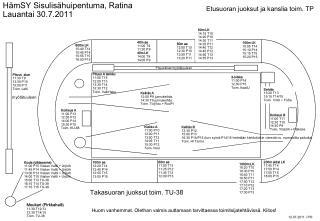 Kuula (ylätasanne) 11:00 P15 Viialan Valtti + UrjUrh  11:45 P14 Viialan Valtti + UrjUrh