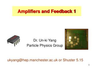 Dr. Un-ki Yang Particle Physics Group