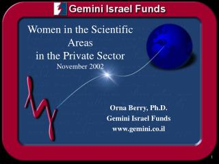 Women in the Scientific Areas in the Private Sector  November 2002