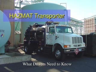 HAZMAT Transporter