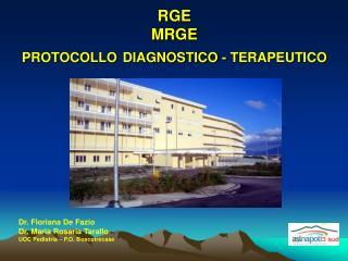 RGE MRGE PROTOCOLLO DIAGNOSTICO - TERAPEUTICO