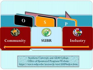 Southern University and A&M College Office of Sponsored Programs Website