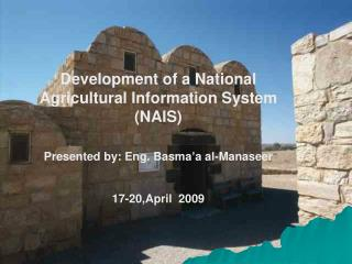 Development of a National Agricultural Information System (NAIS)