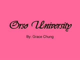 Orso University