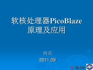 软核处理器 PicoBlaze 原理及应用