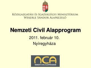 Nemzeti Civil Alapprogram