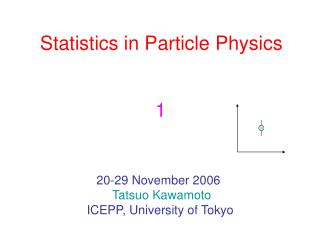 Statistics in Particle Physics